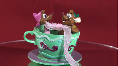 Picture of Teacups Christmas Ornament