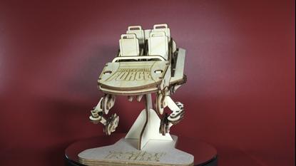 Afbeeldingen van Millenium Force Coaster Cuttout