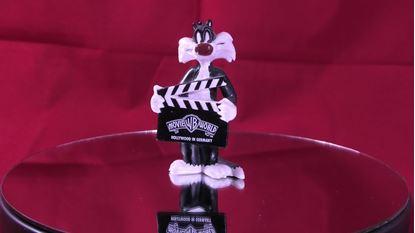 Afbeeldingen van Warner Brothers Movie World Sylvester Figure